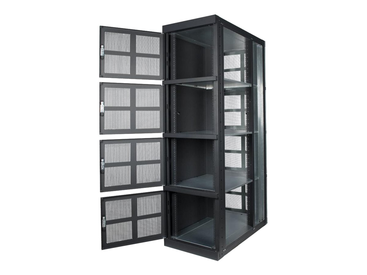 Innovation First 4-Bay Colocation Cabinet Compartment (Side Panels Required), 141-4073, 30597231, Rack Mount Accessories