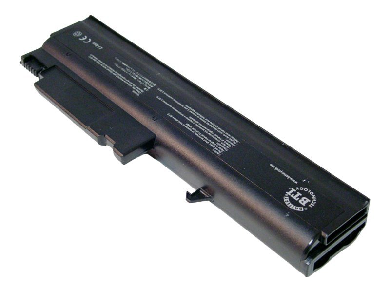 BTI Battery, Lithium-Ion, 11.1V, 4500mAH, for ThinkPad T40, T41, T42, R50 E P, R51, R52, 92P1101-BTI, 7666681, Batteries - Notebook
