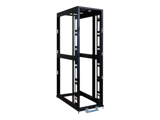 Tripp Lite SmartRack Premium Enclosure, 48U, No Doors, Casters, No Side Panels