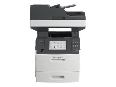 Lexmark MX710dhe Monochrome Laser Multifunction Printer, 24TT401