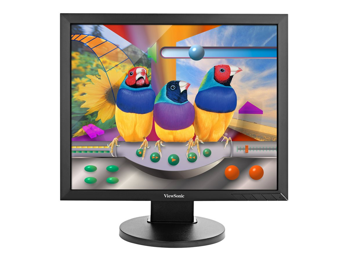 ViewSonic 19 VG939Sm LED-LCD Display, Black