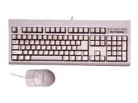 Keytronic USB Keyboard and Mouse - Black, TAG-A-LONG-U2, 7012881, Keyboard/Mouse Combinations
