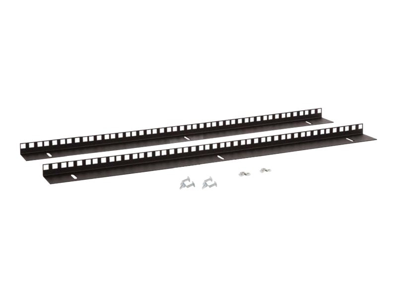 Kendall Howard 15U LINIER Wall Mount Vertical Rail Kit, 3150-3-001-15, 15025788, Rack Mount Accessories