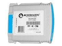 Microboards Cyan Print Cartridge for the Microboards PF-PRO, MX-1 & MX-2 disc publishers, PFP-HC-CYAN, 8227841, Ink Cartridges & Ink Refill Kits