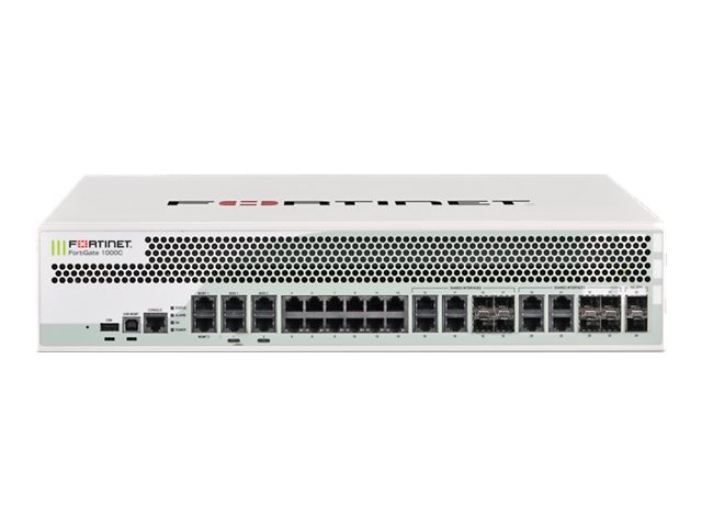 Fortinet Govt. FortiGate 1000C w 8x5 FC & FG (3 Years)