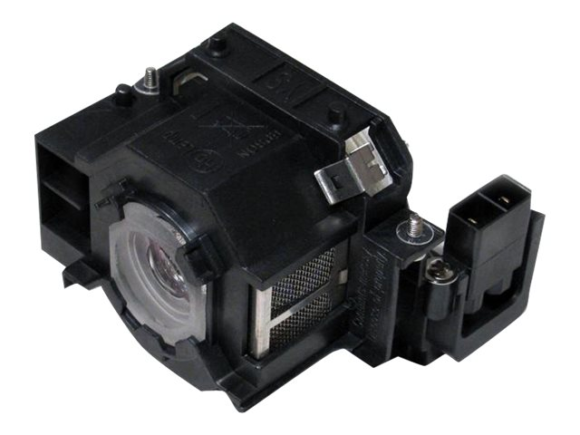 Ereplacements Front projector lamp for Epson EB-410WE, EMP-280, EMP-400, EMP-822, EMP-83, X56, ELPLP42-ER