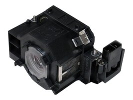 Ereplacements Front projector lamp for Epson EB-410WE, EMP-280, EMP-400, EMP-822, EMP-83, X56, ELPLP42-ER, 11147331, Projector Lamps