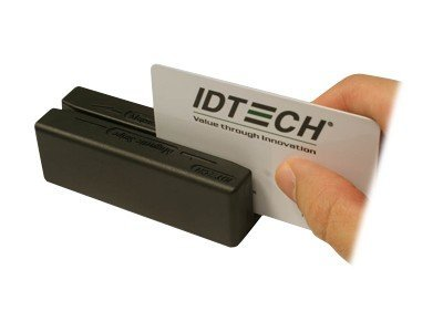 ID Tech MiniMag II, USB Keyboard Wedge, 3-Track, Magtek Settings, IDMB-334133BM, 16891080, Magnetic Stripe/MICR Readers