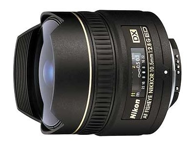 Nikon Nikkor Fisheye 10.5mm f 2.8G Lens, 2148, 6671067, Camera & Camcorder Lenses & Filters