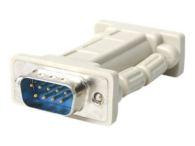 StarTech.com DB9 RS-232 Serial Null Modem Adapter, M F