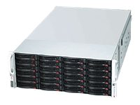 Supermicro 4U Storage Chassis, 45x3.5 HS Bays, 2x1400W RPS, CSE-847E16-RJBOD1, 11784015, Cases - Systems/Servers