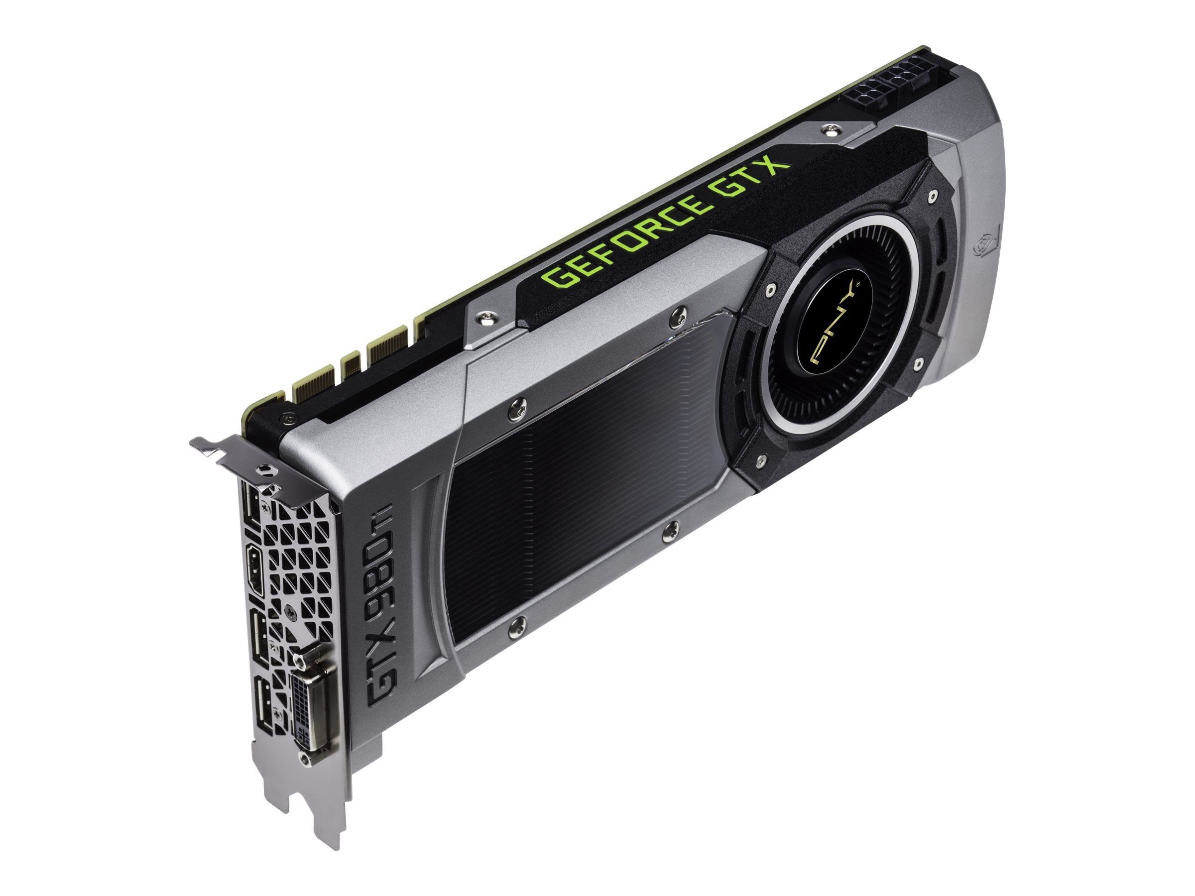 PNY GeForce GTX 980 Ti PCIe 3.0 x16 Graphics Card, 6GB GDDR5, VCGGTX980T6XPB-CG, 22430079, Graphics/Video Accelerators