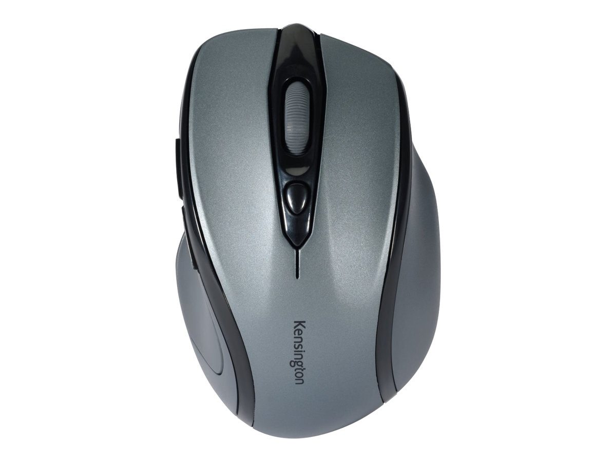 Kensington Pro Fit Mid-Size Wireless Mouse, Graphite Gray, K72423WW