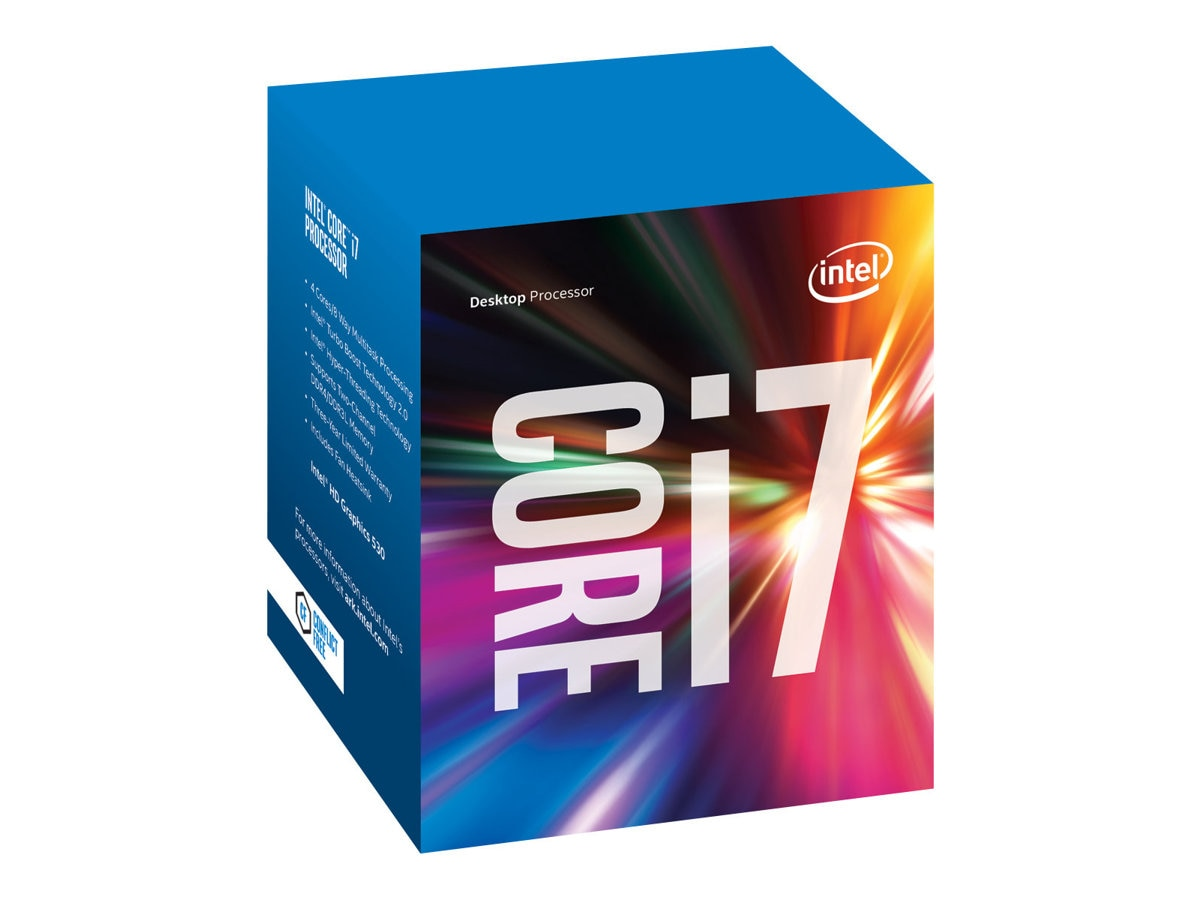 Intel Processor, Core i7-6700 3.4GHz 8MB 65W