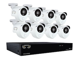 Night Owl 8-Channel Security System w  (8) Infrared Cameras, B-10PH-881-PIR, 33157696, Security Hardware