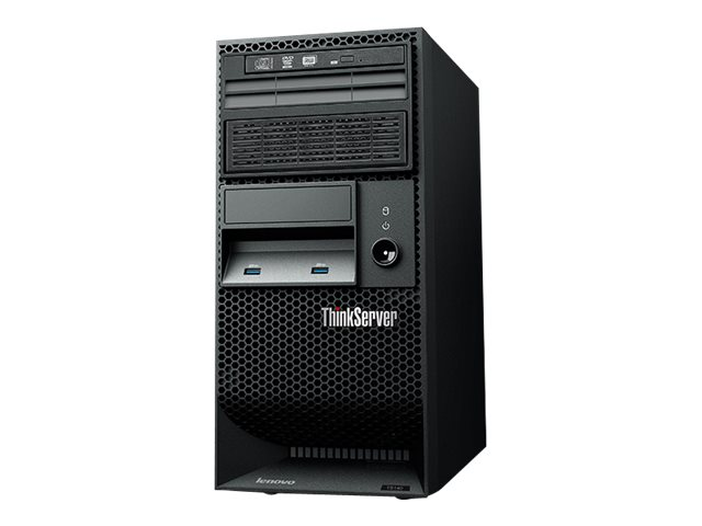 Lenovo ThinkServer TS140 Xeon E3-1226 v3 4GB 500GB, 70A4003BUX, 30642469, Servers