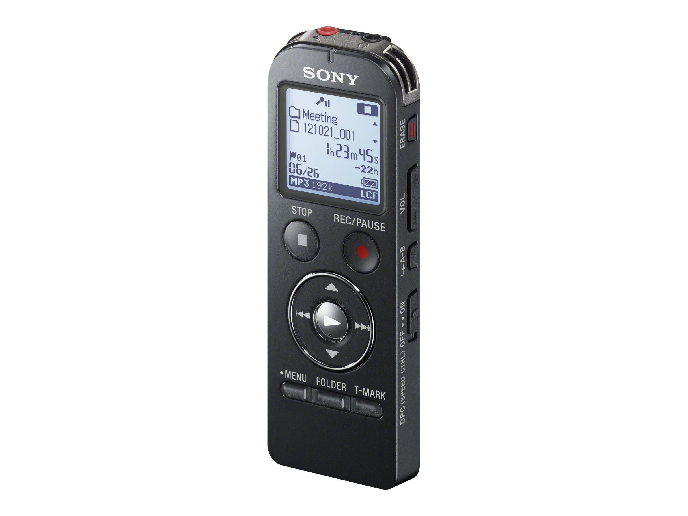 Sony Voice recorder, Black