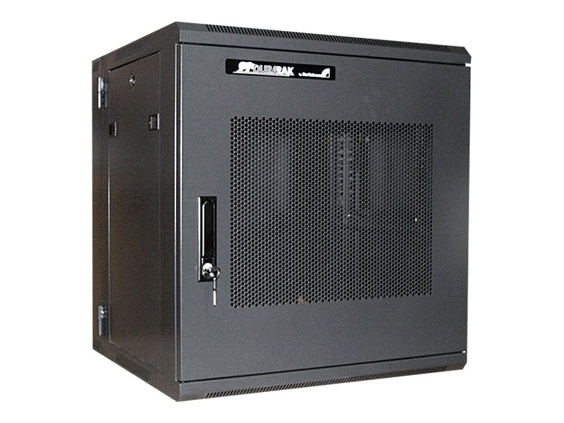 StarTech.com 19 Hinged Wall Mount Server Rack Cabinet, 12U, Steel Mesh Door, RK1219WALHM, 10545004, Racks & Cabinets