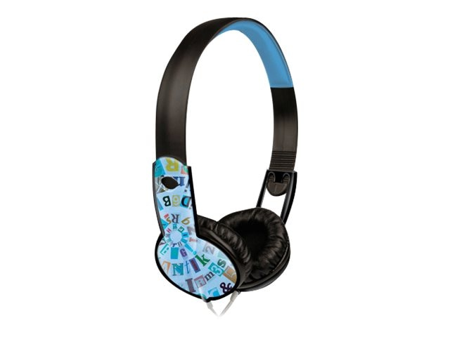 Maxell Safe Soundz Headphones, Ages 6-9, Boy, Blue