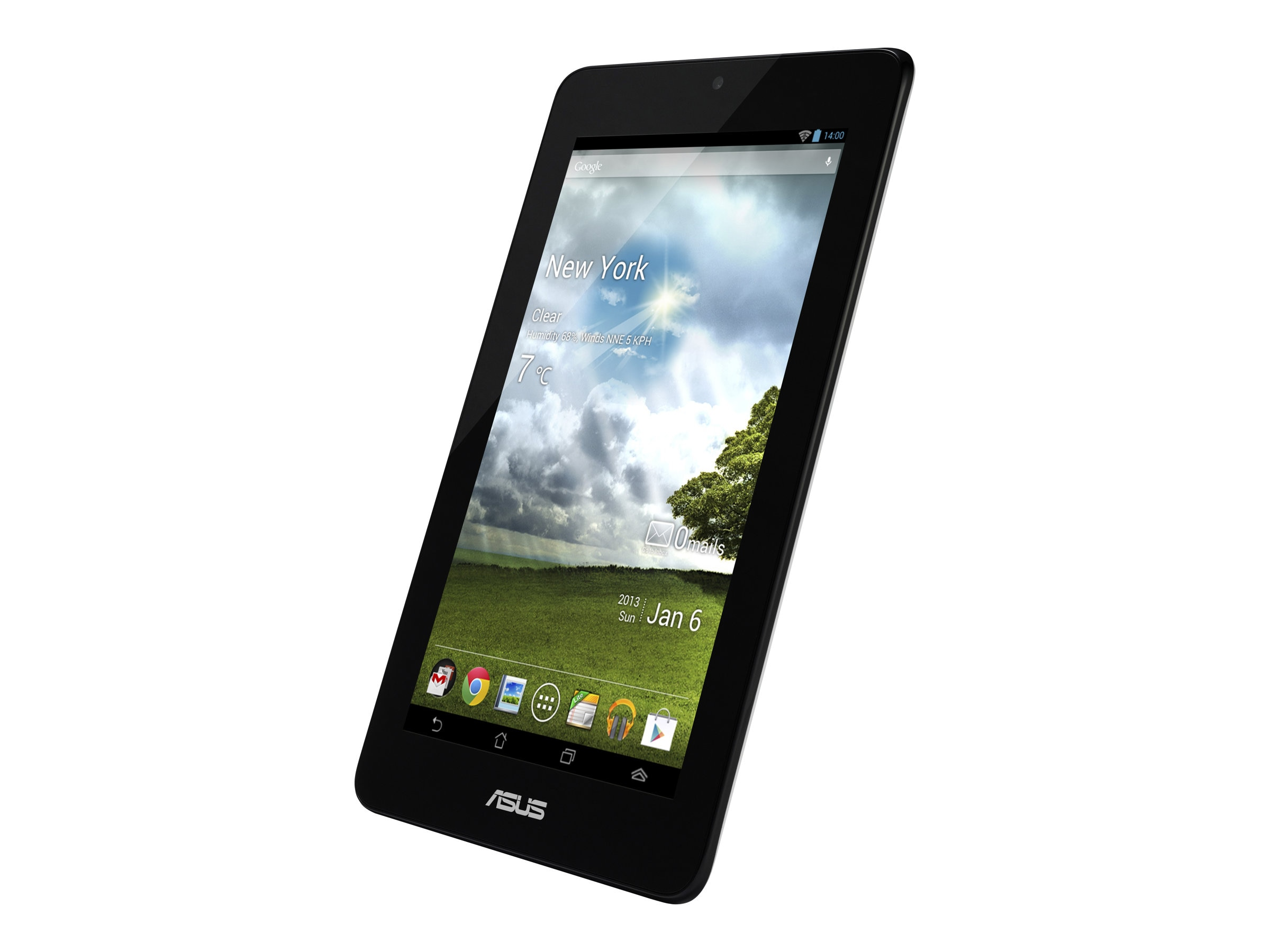 Asus MeMO Pad VIA Cortex A9 WM8950 1.0GHz 1GB RAM 32GB Flash bgn WC 7 MT Android 4.1, White, ME172V-B1-WH