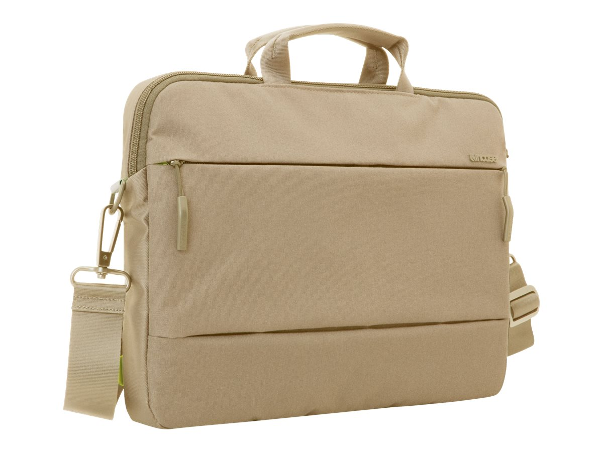 Incipio Incase City Collection Brief Bag for 15 MacBook Pro, Dark Khaki