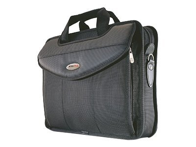 Mobile Edge 17 Select V-Load Case, Nylon, Black, MEV17S, 6226449, Carrying Cases - Notebook
