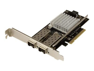 StarTech.com 2-Port 10G Fiber Network Card with Open SFP+ - PCIe, Intel Chip, PEX20000SFPI, 26551003, Network Adapters & NICs