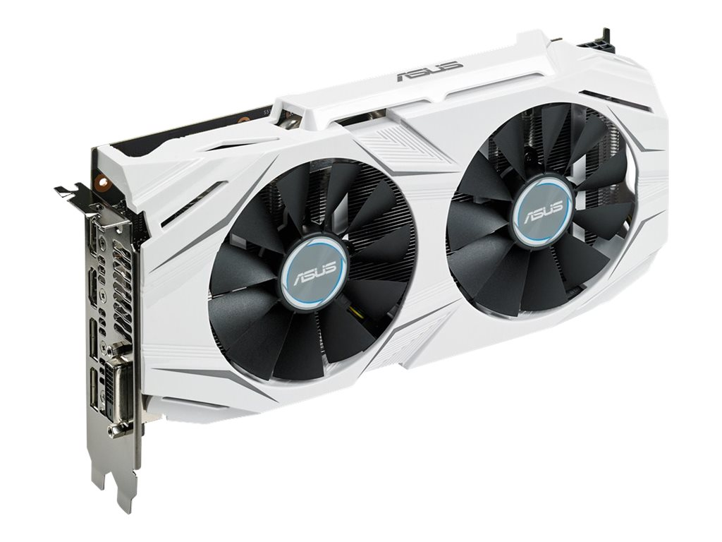 Asus GeForce GTX 1060 PCIe Graphics Card, 6GB GDDR5, DUALGTX10606G