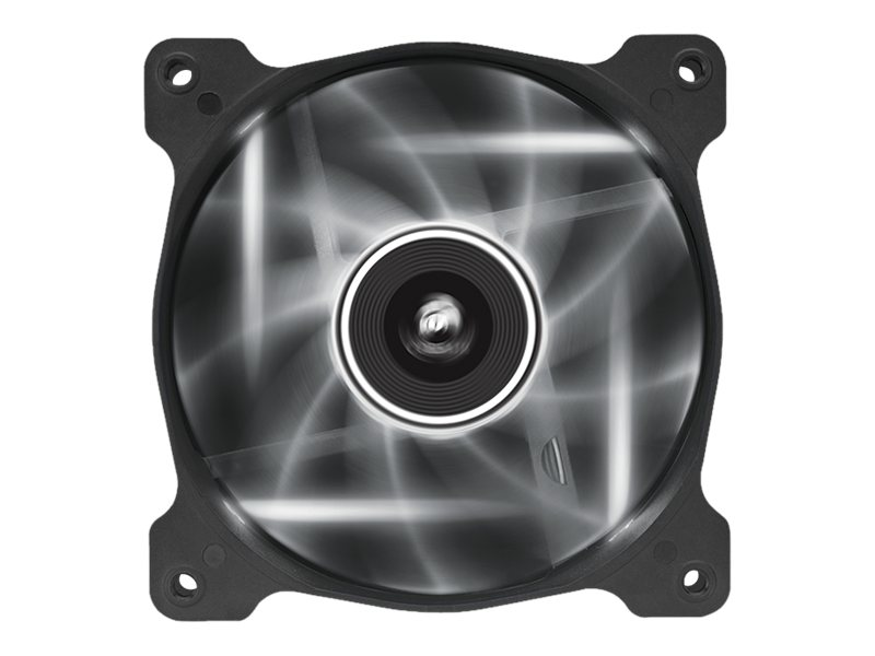 Corsair Air Series AF120 Case Fan Quiet Edition White LED, Single Pack, CO-9050015-WLED, 16375051, Cooling Systems/Fans