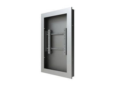 Peerless In-Wall Kiosk Enclosure, Silver, for 42 Displays up to 2.25 Thick, KIP742-S, 16924751, Stands & Mounts - AV