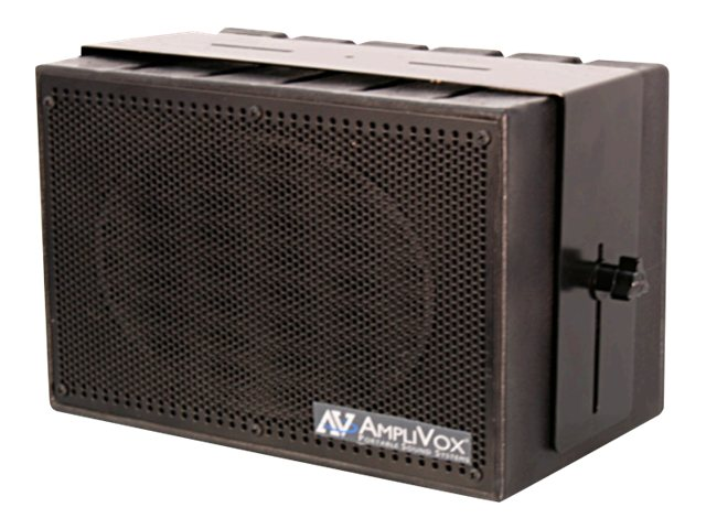 AmpliVox MITY-BOX 16-Channel Compact PA System with Wireless Mic & Amplified Speaker