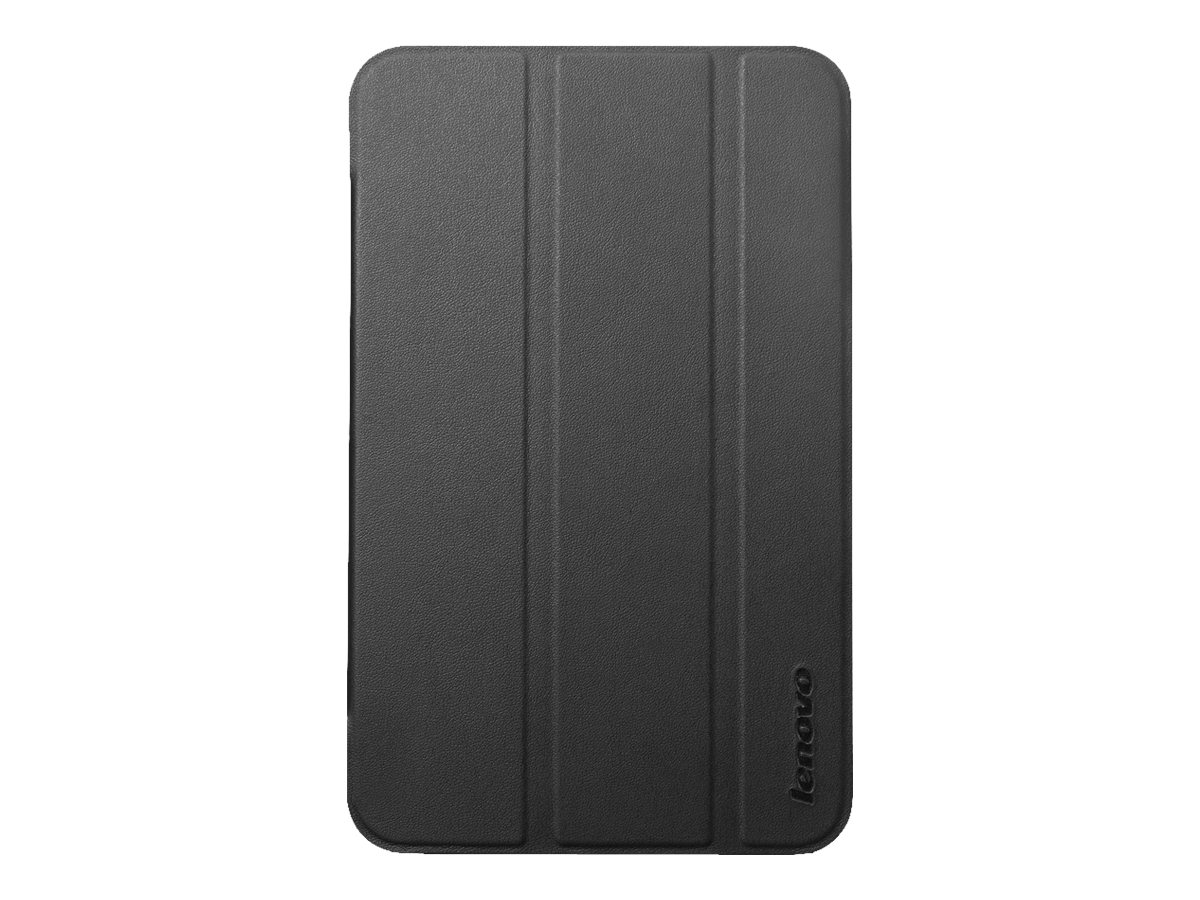 Lenovo IdeaTab A1000 Folio Case, Black, 888015259, 16473478, Carrying Cases - Tablets & eReaders