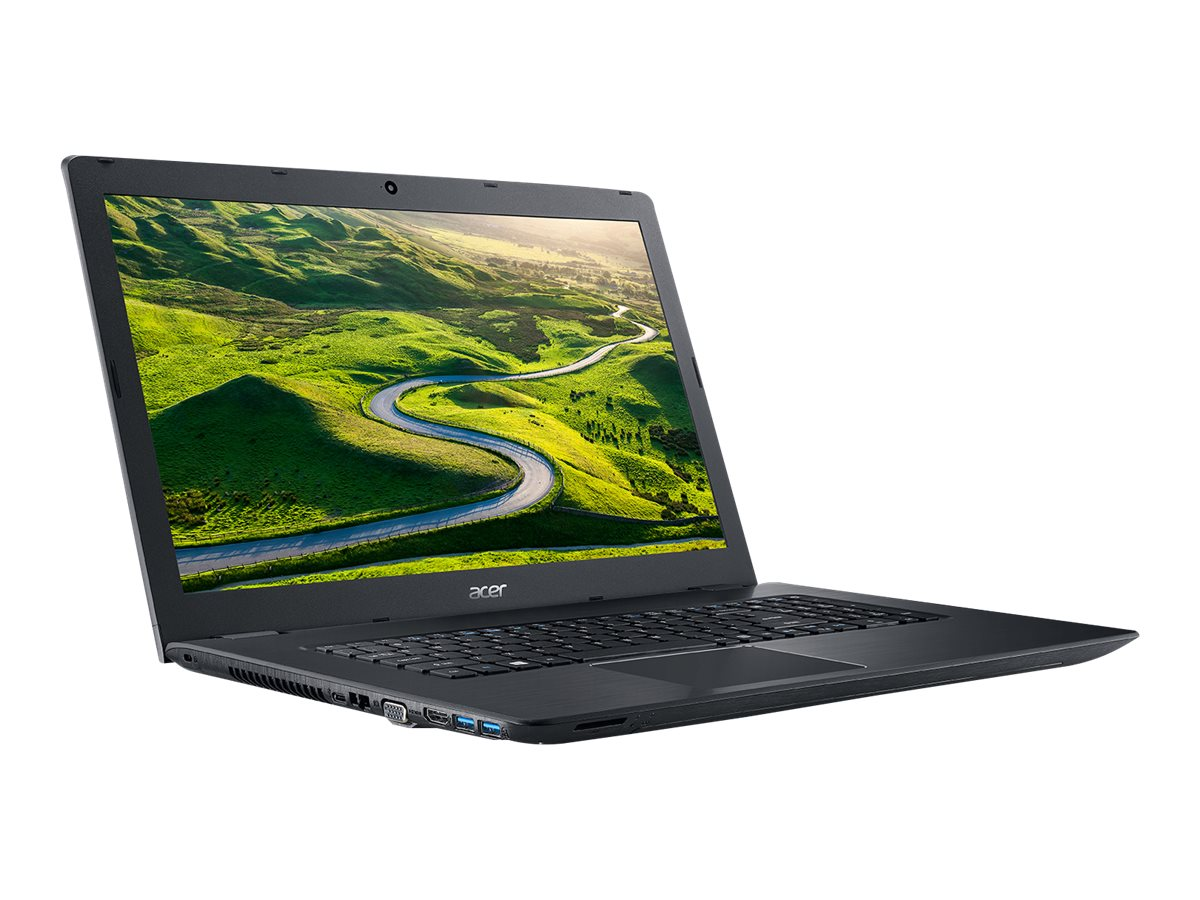 Acer Aspire E5-774-50SY Core i5-7200 2.5GHz 8GB 1TB DVD ac GNIC BT WC 4C 17.3 HD+ W10H64 Black, NX.GECAA.001