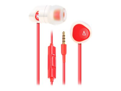Creative Labs MA-200 CLI-R Headset - Red, 51EF0600AA012