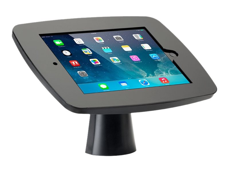 Tryten Kiosk Mount with Closed Faceplate for iPad Air 1, 2, Black, T2424BA