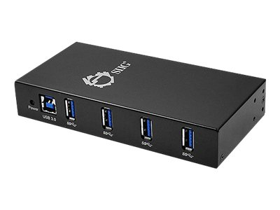 Siig 4-Port Industrial USB 3.0 Hub with 15KV ESD Protection, ID-US0411-S1, 16306098, USB & Firewire Hubs