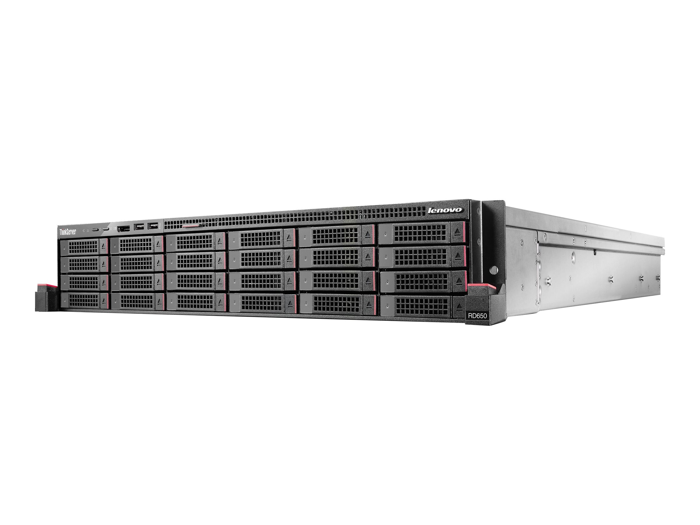 Lenovo ThinkServer RD650 Intel 2.4GHz Xeon, 70D10007UX, 17809762, Servers