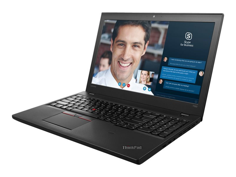 Lenovo TopSeller ThinkPad T560 2.6GHz Core i7 15.6in display, 20FH001TUS