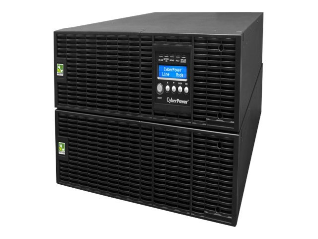 CyberPower Smart App Online 10,000VA 9000W 6U Rack Tower UPS, LCD Control Panel, OL10000RT3U, 14249587, Battery Backup/UPS