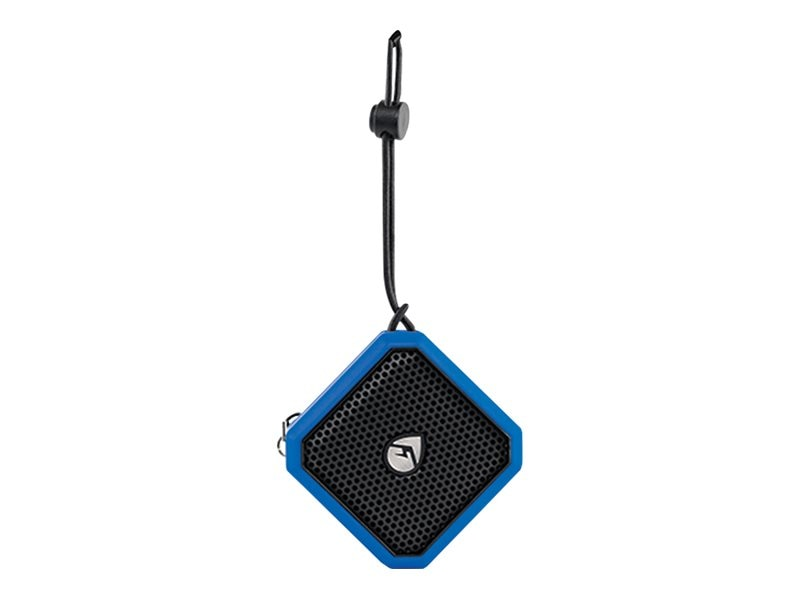 Grace Digital Audio EcoPebble BT Waterproof Speaker - Blue