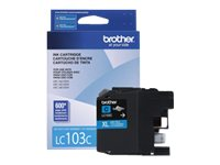 Brother Cyan LC103C Innobella High Yield (XL Series) Ink Cartridge for the MFC-J4510DW, LC103CS, 14714864, Ink Cartridges & Ink Refill Kits