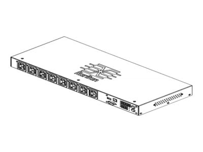 Raritan PDU 200-240V 1-phase 16A IEC 60309 2P+E (8) C13 (no returns), PX2-5190R