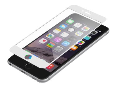 Zagg Invisibleshield Luxe Glass for iPhone 6 6S Plus, White