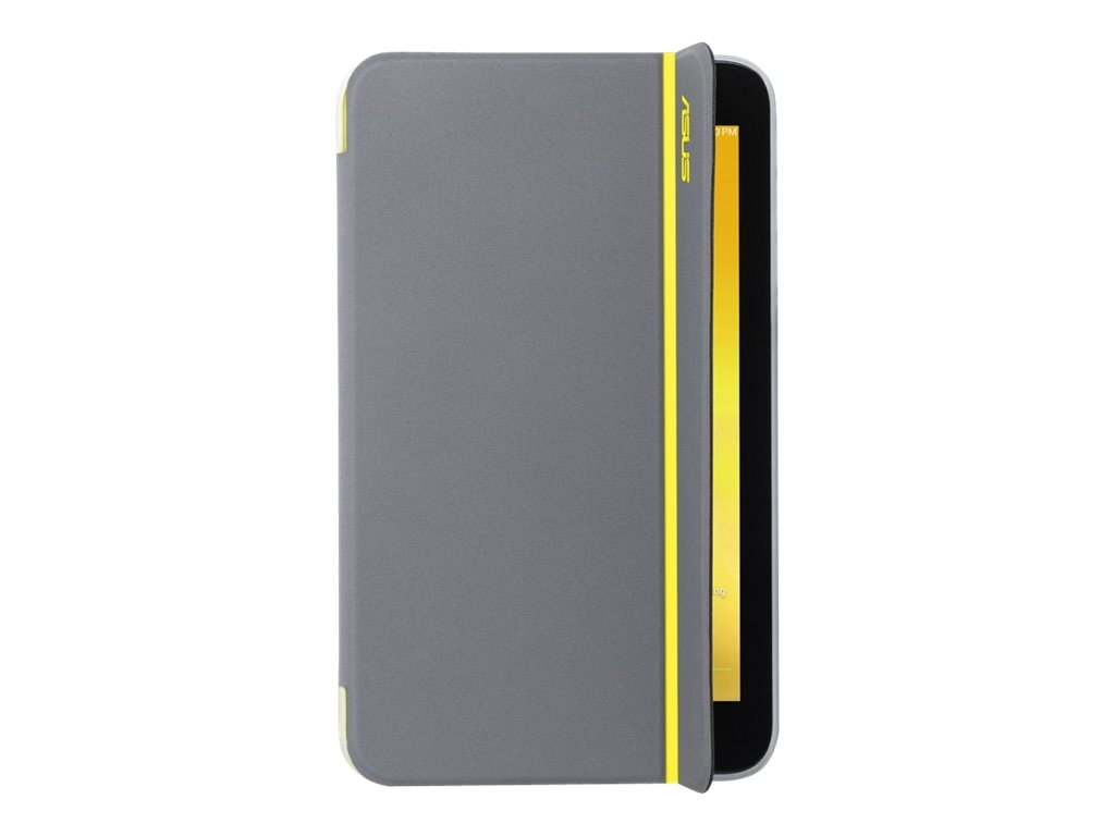 Asus MagSmart Cover for MeMO Pad ME176, Yellow Stripe, 90XB015P-BSL1M0, 18012077, Carrying Cases - Tablets & eReaders