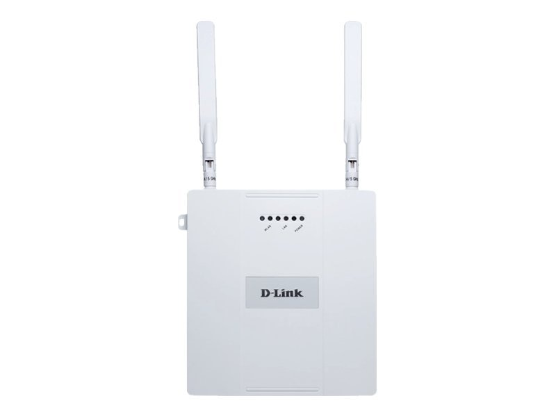 D-Link Air Premier N Dual Band Plenum-Rated PoE Access Point Powered by CloudCommand