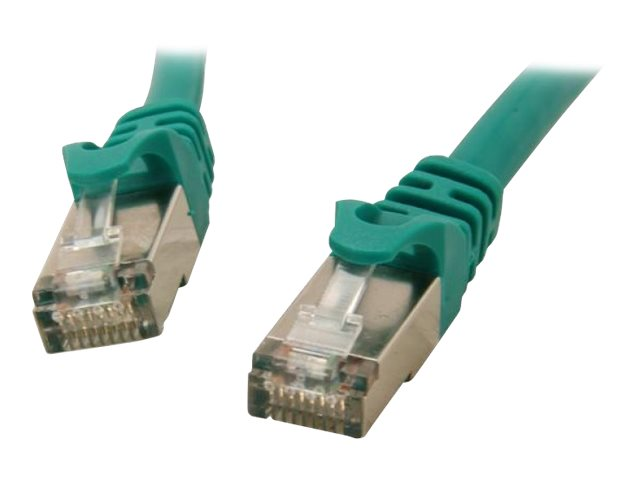 Rosewill Cat6a SSTP Ethernet Cable, Green, 1ft, RCNC-12025