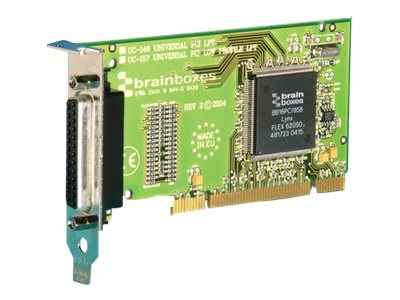 Brainboxes 1-port LP-PCI Printer Port Low Profile Controller, UC-157-001, 14491023, Controller Cards & I/O Boards