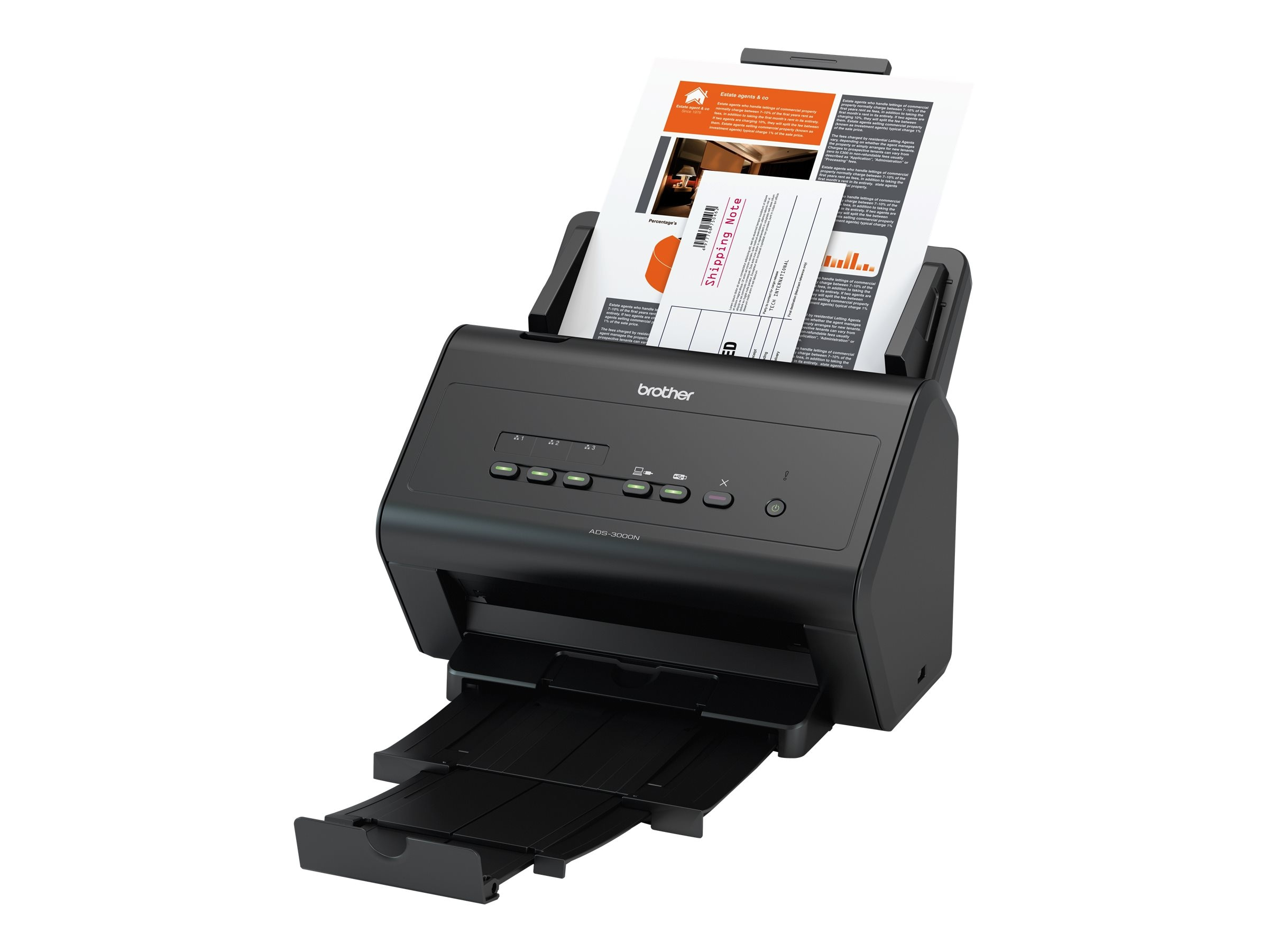 Brother High Speed Scanner Mid to Large Size Work Groups