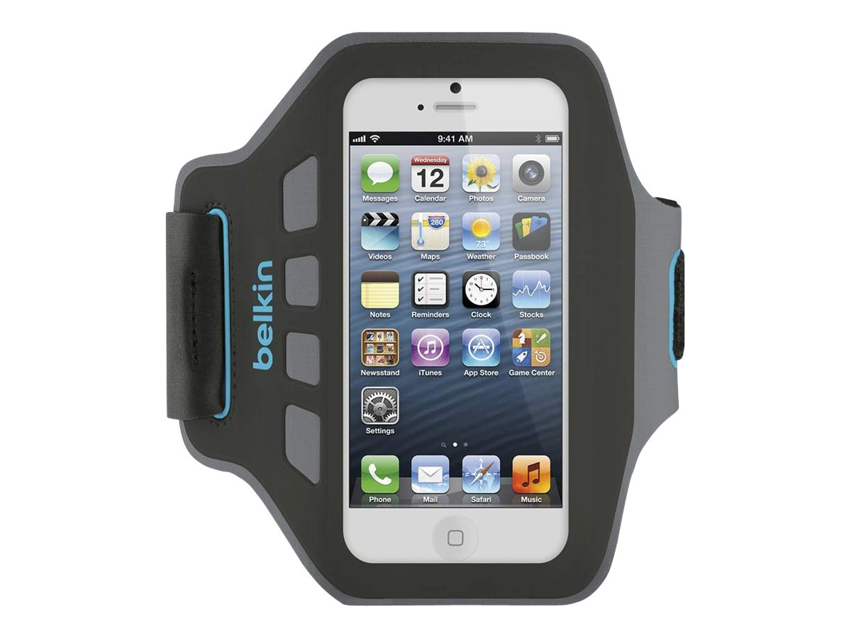 Belkin Ease-Fit Armband, Reflection for iPhone5, F8W105TTC01, 14860685, Carrying Cases - Phones/PDAs