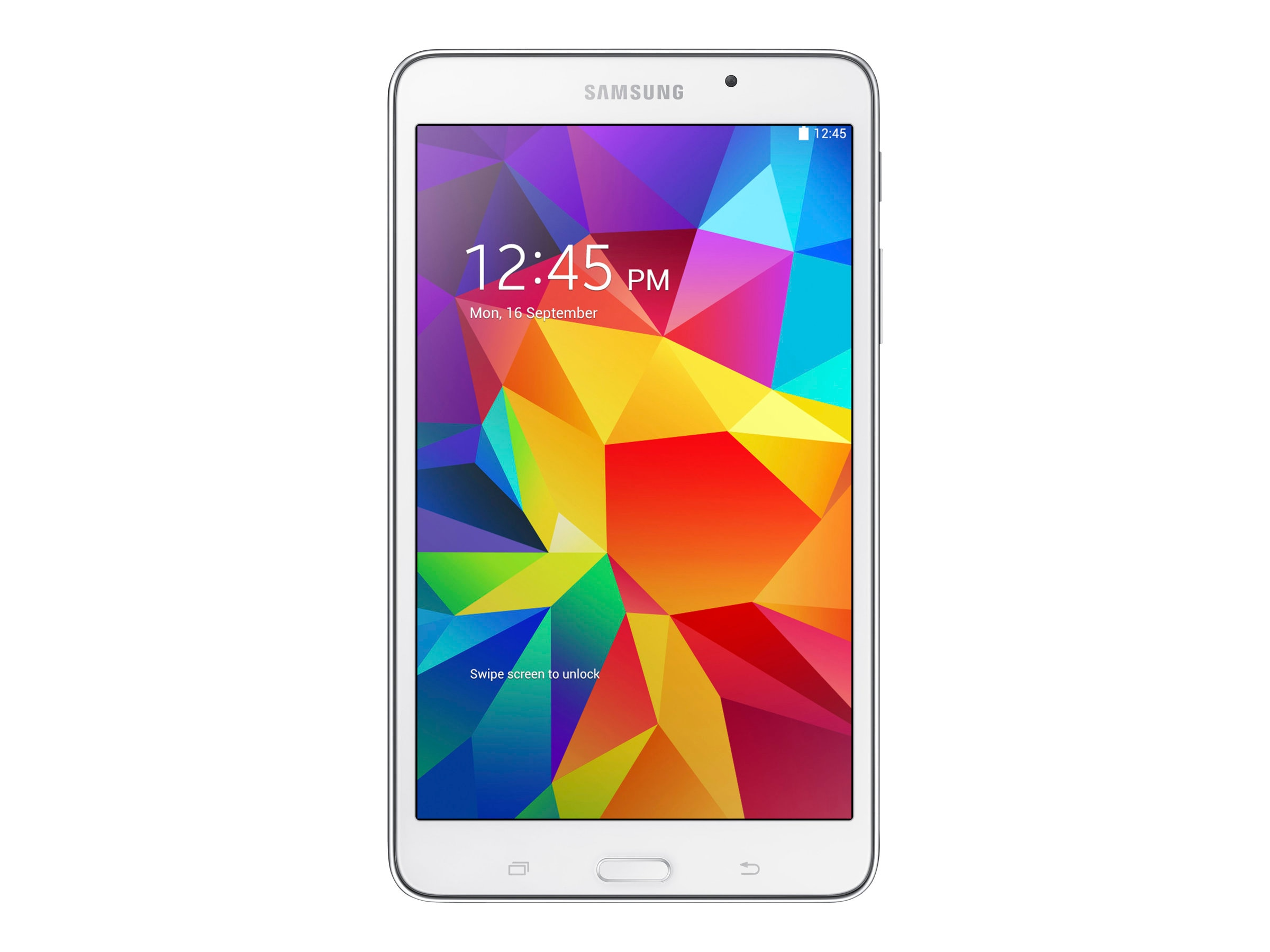 Samsung Galaxy Tab 4 1.2GHz processor Android 4.4 (KitKat), SM-T230NZWAXAR, 17054697, Tablets